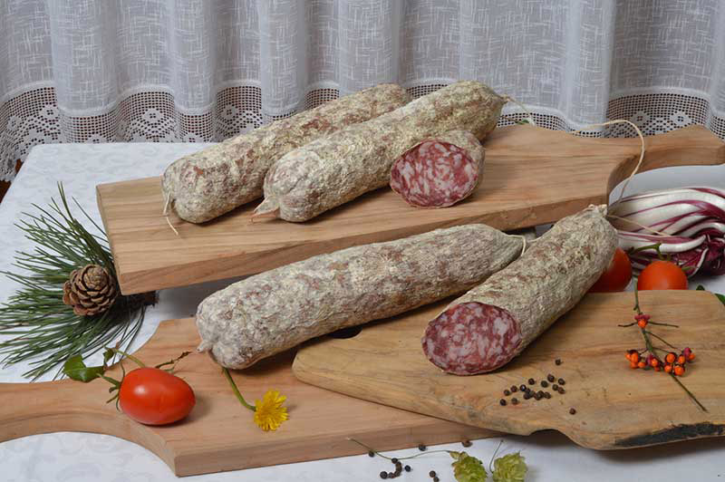Salame all'aglio del Montello